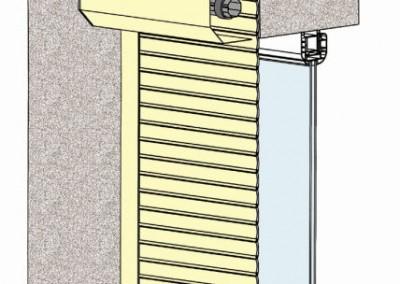 Roleta zewnętrzna  elewacyjna - SKO